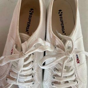 Superga platform sneakers
